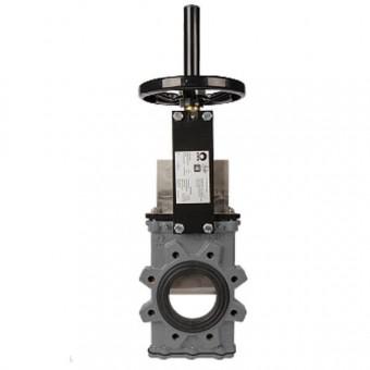 Шиберный затвор CMO, серия GL стандартного давления, двунаправленного типа, DN150, PN10 (GsC-HW-NR)