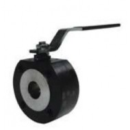 Шаровый кран, 2-ходовой,фланцевый, тип WAFER, углерод. сталь, Dn15-150, Pn16-40